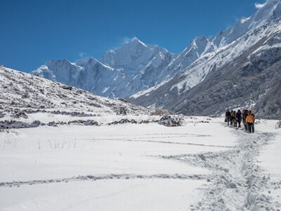 Langtang valley trek in Nepal