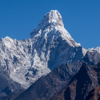 Beautiful mountain Amadablam