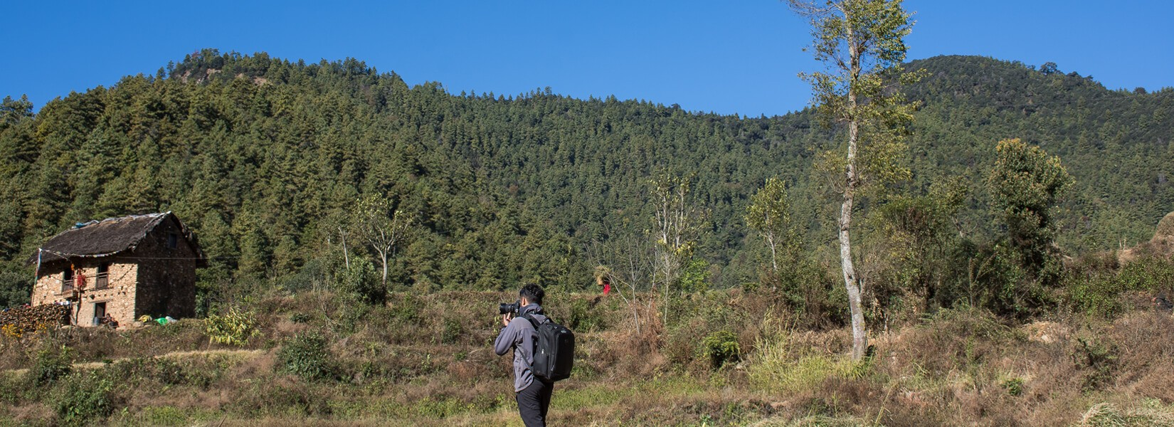 Day hiking around the Kathmandu valley