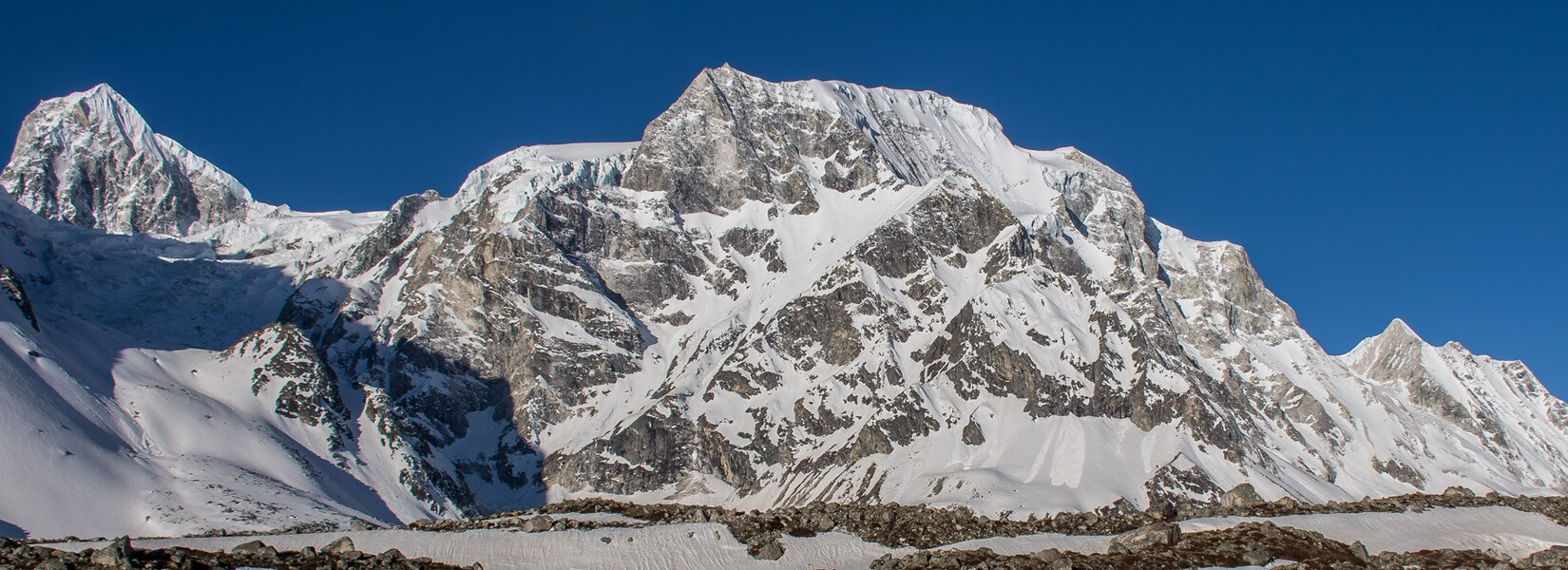 larke peak claimbing in nepal