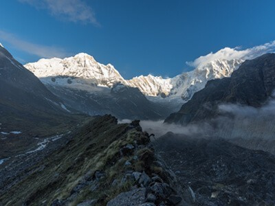 Panoramic view of Annapurna