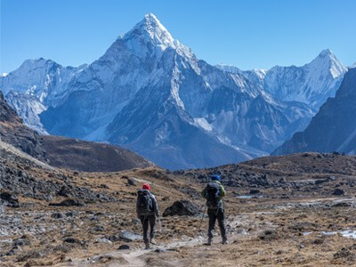 Everest Base Camp Trek via Gokyo Chola pass