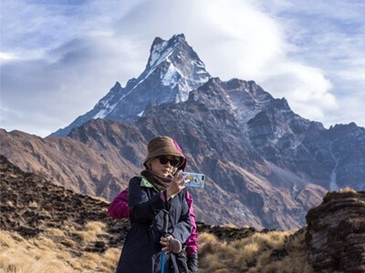 Mt. fishtail and Mardi Himal