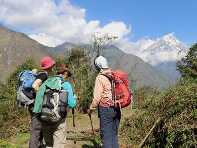 On the way Dhaulagiri